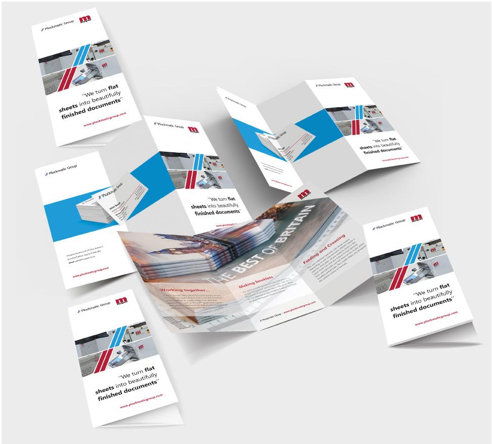 Folded sheet examples