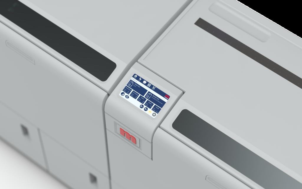 BM5000 booklet maker digital display